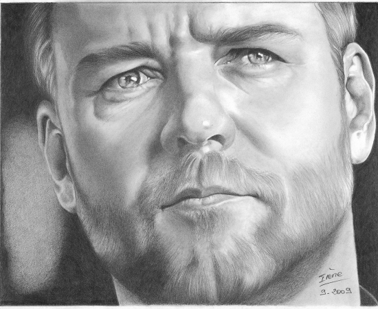 Russell Crowe by peggy